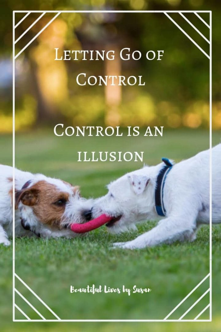 Letting Go of Control Control is an illusion