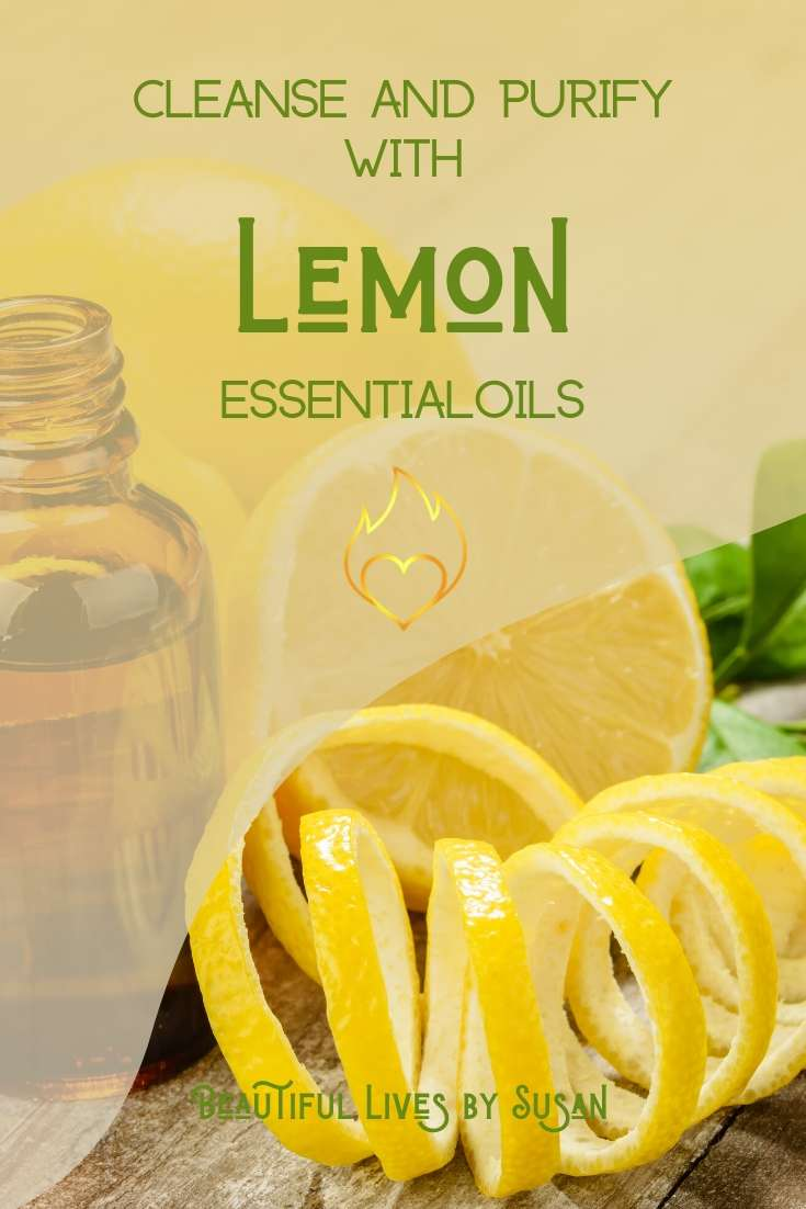 Cleanse and Purify with Lemon Essential Oils