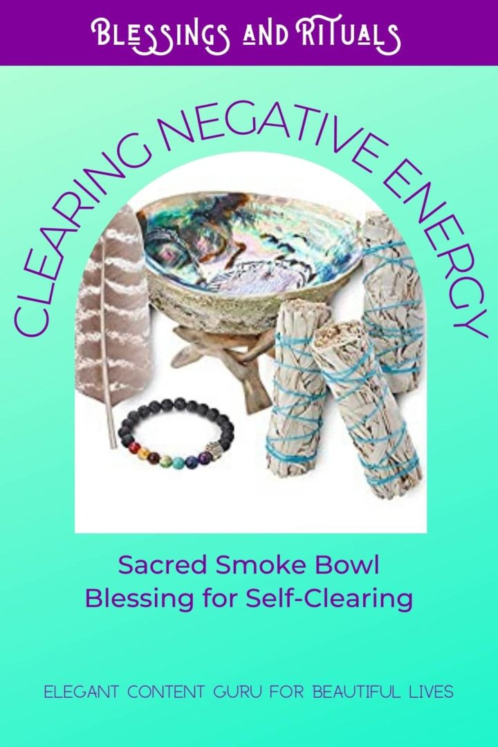 Self-clearing of negative energy