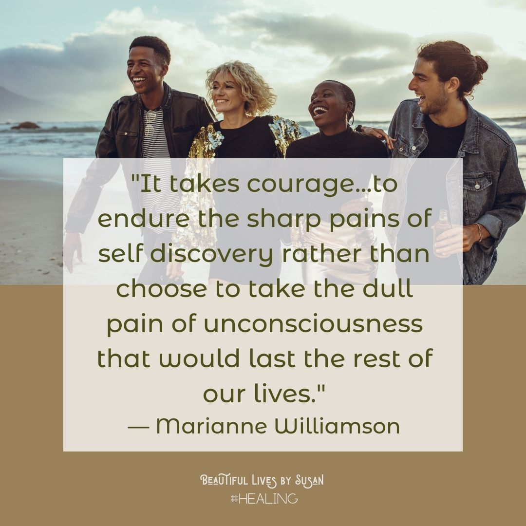 Courage by Marianne Williamson
