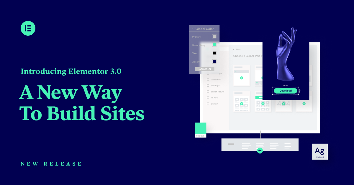 Elementor Site Builder - A New Way to Build Sites