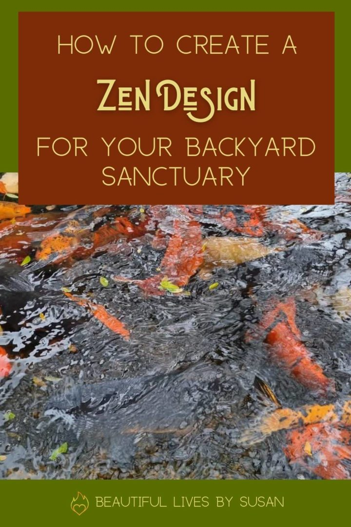 How to create a zen design for your backyard sanctuary