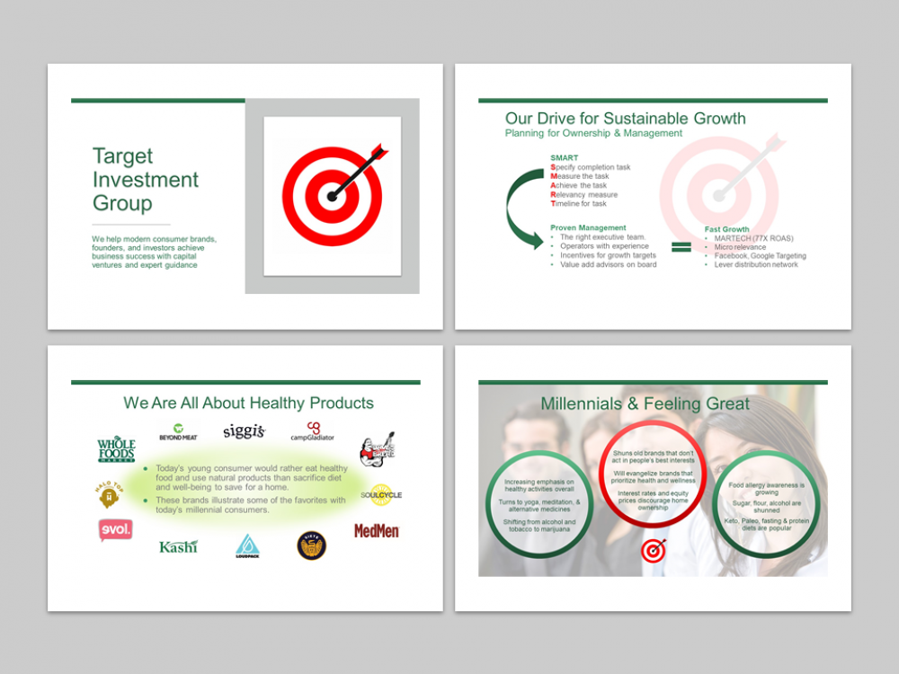 Target Investments MS PowerPoint Presentation