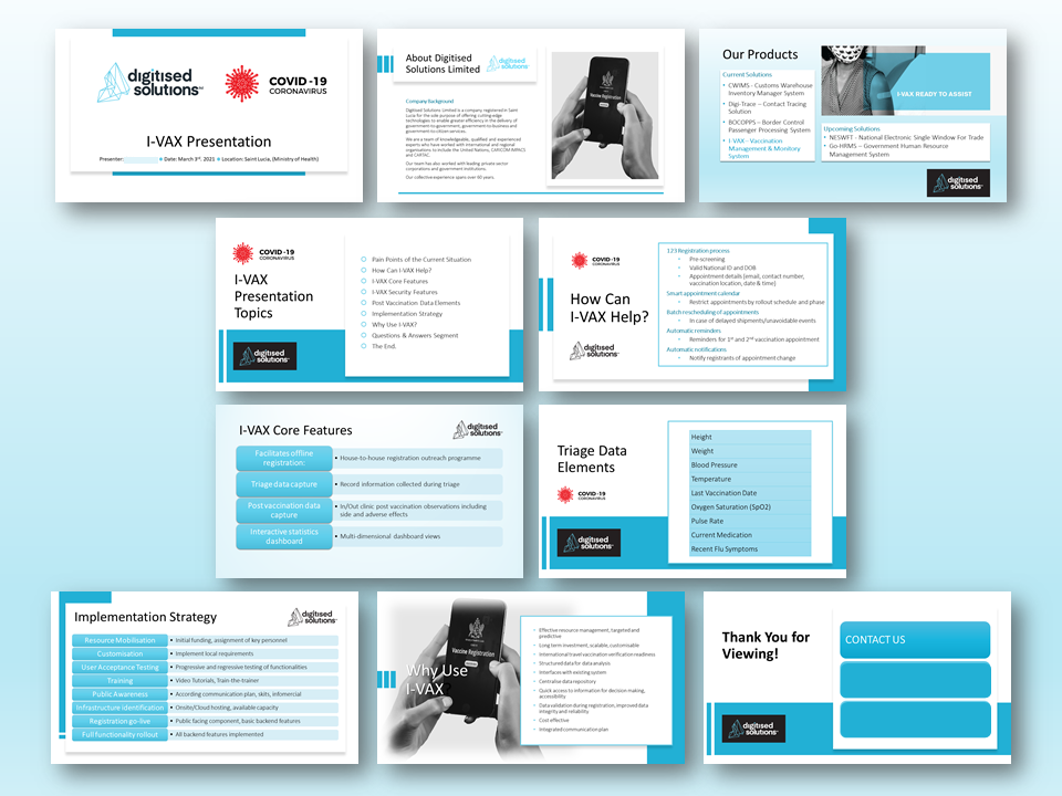 Digitized Solutions MS PowerPoint Presentation
