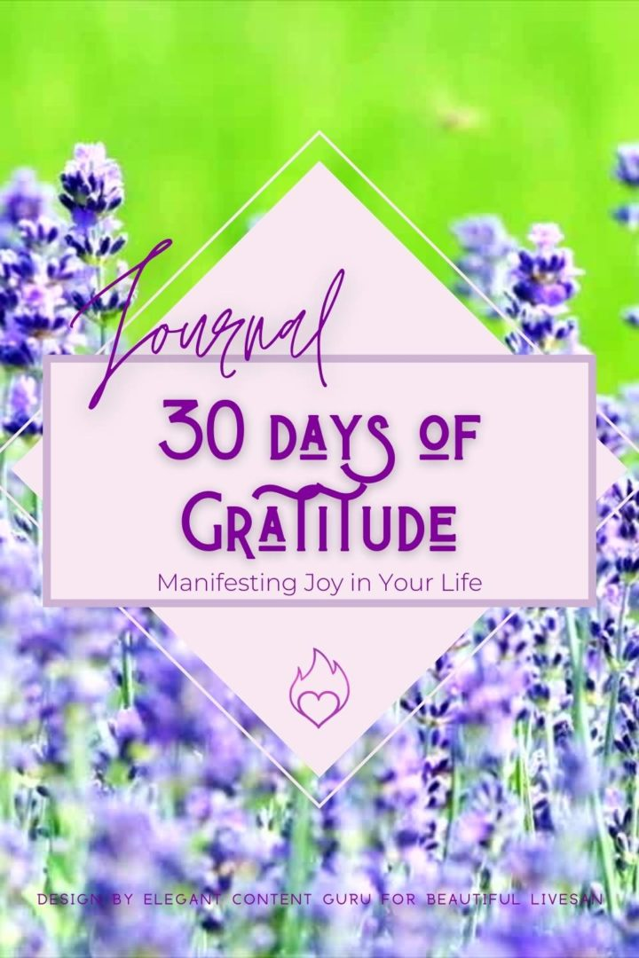 Journal 30-Days of Gratitude Quotes